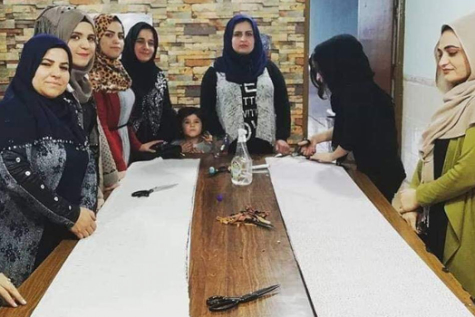 Persistence and self-confidence turned these women into business owners in Garmian