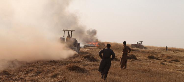 بخصوص ملكية أراضي زراعية..<br> نشوء توتر ونزاعات في احدى قرى داقوق