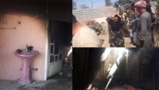 House of Kaka'i family in south Kirkuk set on fire