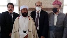 Despite objections, Ali Elias assumes the position of 'Baba-Shékh'