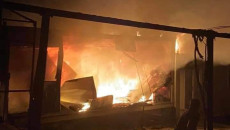 Fire breaks out at an IDP camp in Duhok: 10 tents burned down