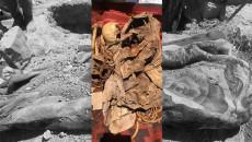 Şengal'de Ezidilere ait 16 ayrı mezarı açıldı