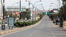 Mutasyonlu Covid-19 Kerkük sokaklarını boşalttı