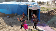 Tens of Syrian families live on the streets of Kirkuk