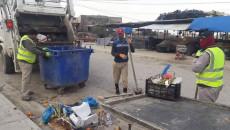 Musul çöplerden temizlenir