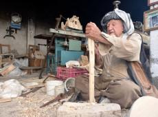 Ganim 70 yıldır marangozluk yapıyor