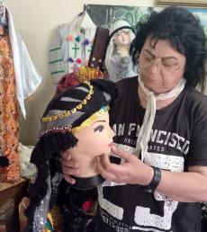 Sanata kendini adayan Besima Sefar, destek bekliyor