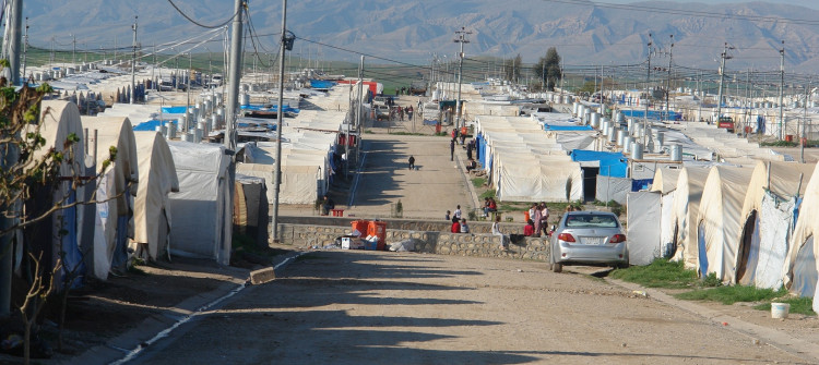 COVID-19 outbreak in third IDP camp in Duhok: Kabartu 1