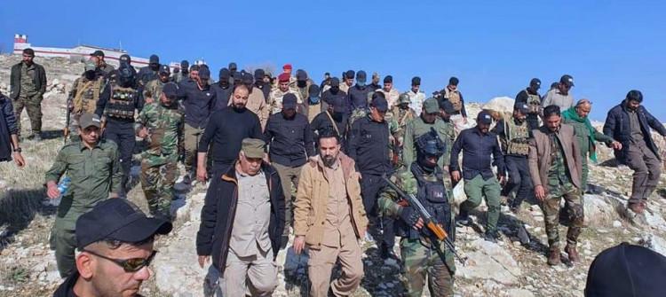 Heşdi Şabi 20 bin silahlı üyesi Şengal'den çekildi