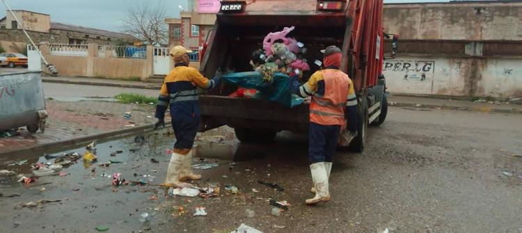 Kerkük; 500 dinar için bir ton çöp atma