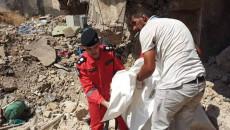 انتشال ٢٣ جثة من تحت الأنقاض في مدينة الموصل