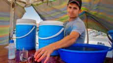 Mohammed Jumma, a fresh juice seller, is proud of his job
