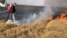 مقتل ثلاثة اشخاص واصابة اربعة اخرين اثناء مشاركتهم في اخماد حرائق حقول الحنطة في تلعفر