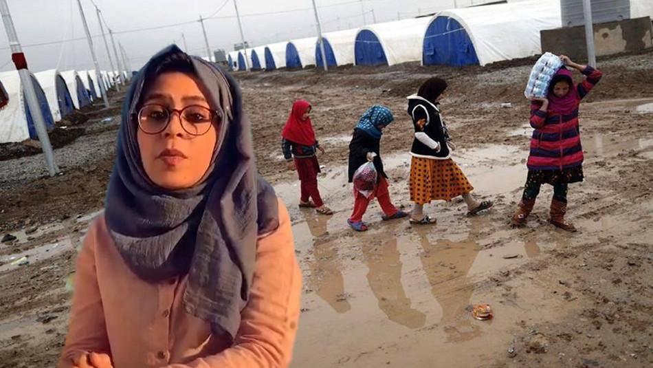 """""""Insan haklarını destekliyorum""""<br>Sefa Salah: (mültecilerin sesini duysun) hayatım değişti"""