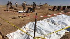 Badoş'ta iki toplu mezar ortaya çıkarıldı