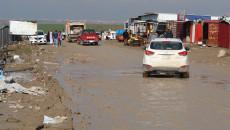 """البدء بإعادة تبليط طريق مخيم كبرتوو """"المليء بالحفر والمطبات"""""""