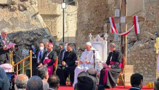 Pope's trip slightly touched life of Christians