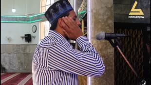 شاب من الموصل حلمه ان يصبح من القراء البارزين للقران الكريم