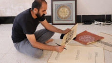 No income, no audience as COVID-19 looms over life of Kaka'i calligrapher