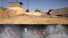 Irak İstihbarat Teşkilatı, Şengal'deki toplu mezardan kurbanların kalıntılarını çıkarıyor