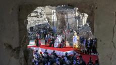 Papanın ziyareti Ninovalı Hristiyanların hayatında hiçbir şeyi değiştirmedi