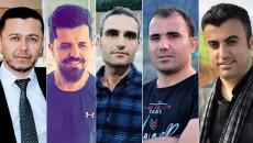 Mahkeme, Kürdistan Bölgesi'ndeki beş gazeteci ve aktiviste verilen hapis cezasını onadı