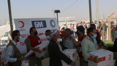 Türk Kızılayı'ndan Şehan'da Ezidilere yardım