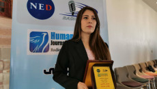 KirkukNow correspondent wins award for best report related to human rights