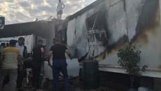 حريق يلتهم عدداً من الكرفانات في مخيم للنازحين بمحافظة دهوك
