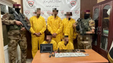 Kerkük'te 5 kişilik çete yakalandı