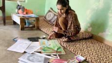 12 yaşındaki Cene: Acılarımızı resimlerime yansıtmıyorum
