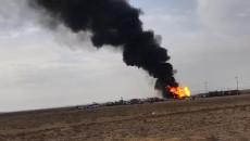 قُدِّرَت الخسائر بثمانين ألف دولار يومياً..<br>نيران احدى آبار كركوك النفطية لا تزال مشتعلة