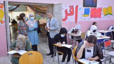 Kerkük'te öğrenciler, sınav salonlarında klimalardan mahrum sınava giriyor