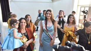 بالصور: ملكة جمال العراق تعود الى ديارها