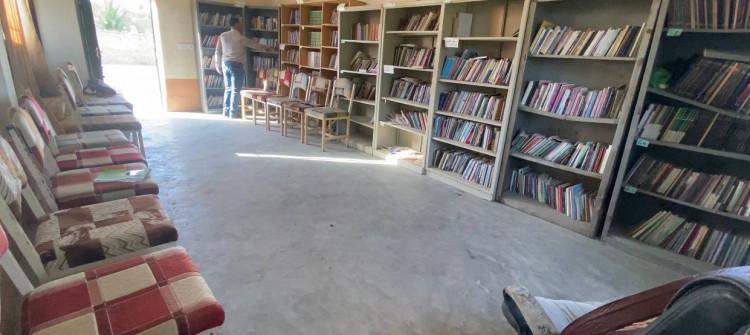 Kakai Kütüphanesi yüksek sıcaklıktan kapandı