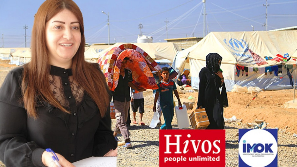 Mültecilerin seslerini duysun<br>Mülteci olma ve ihmal etme içindeki bir proje