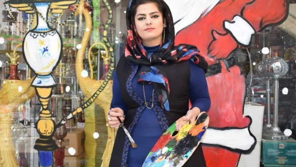 Zahra paints disputed Khanaqin with colors of peace and co-existence