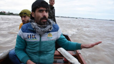 Khairi and his group of volunteers undertake the excruciating task of searching for sunken Mosul ferry victims