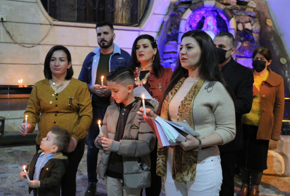 Christmass Mass in Kirkuk