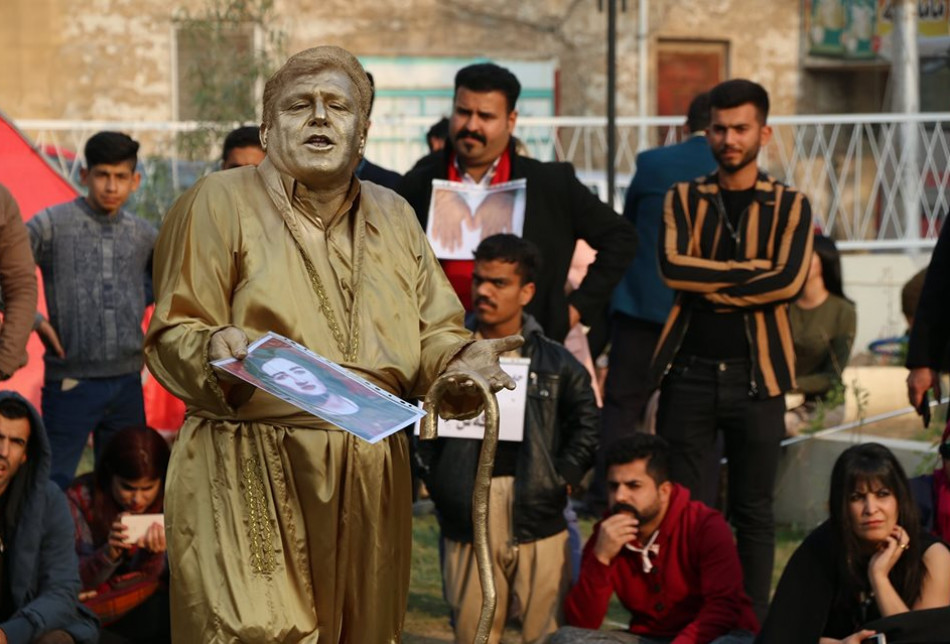 Kirkuk hosts international street theatre festival