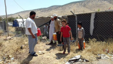 Ezidi displaced families in Mount Shingal camps face water shortages