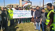 Kerkük'teki park işçileri: 2 aydır maaş almadık