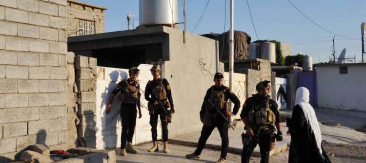 Güvenlik güçleri kontrol etme kampanyasını kerkük mahelelerinde götürdü