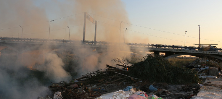 Khasa; a tourist project turned into a dump