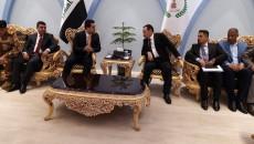 محافظ نينوى الجديد يصل ديوان المحافظة ويباشر بأداء مهامه