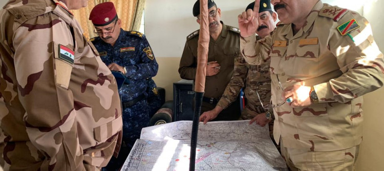 Kirkuk: Security forces launch clearing operation to secure strategic locations
