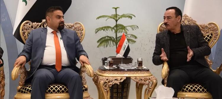 حكومة نينوى ووزارة الاعمار تواقعان عقود اعمار لمشاريع في الموصل وتلعفر