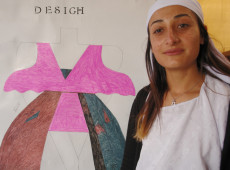Nervin: ben evimizin büyüğüyüm, bir tasarımcıyım ve kendi geçim kaynağımı elde ediyorum