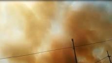 ادارة نينوى تعلن النفير العام بعد حريق كبريت المشراق