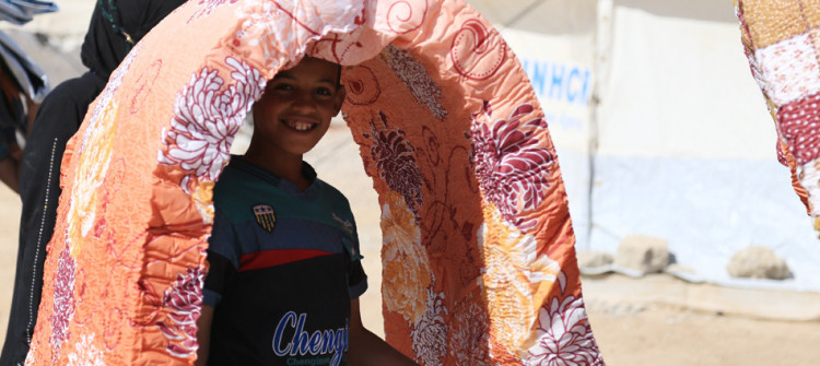 Displaced families in Sharya Camp reel from power shortages amid soaring temperatures